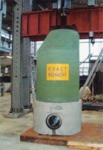 Der Exact-Schacht, deutschlandweit das erste monolithische System im Schachtbau.