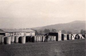 Das Werksgelände in Steinburg / Niederbayern